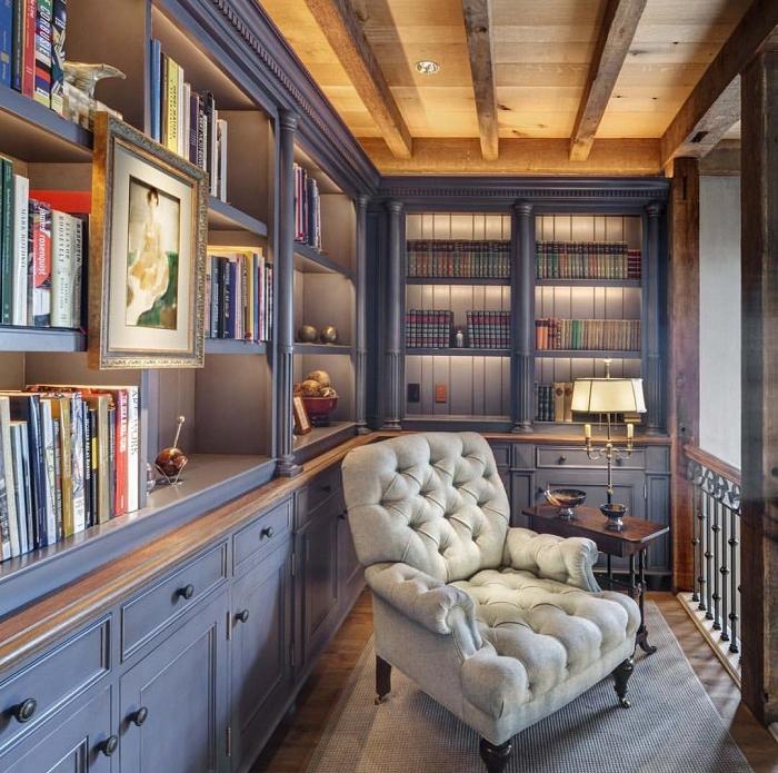 6 ý tưởng thiết kế phòng đọc sách tại nhà