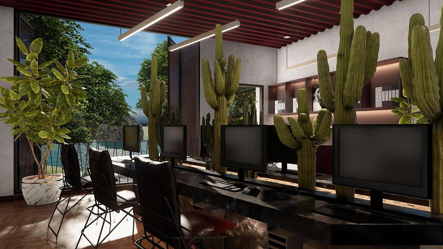 Cải tạo nhà ở kết hợp văn phòng