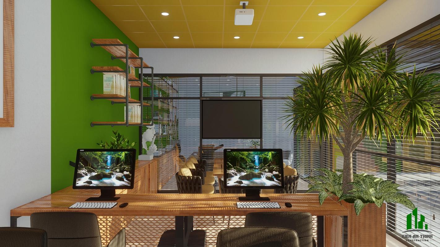 Cải tạo nhà văn phòng kết hợp phòng họp