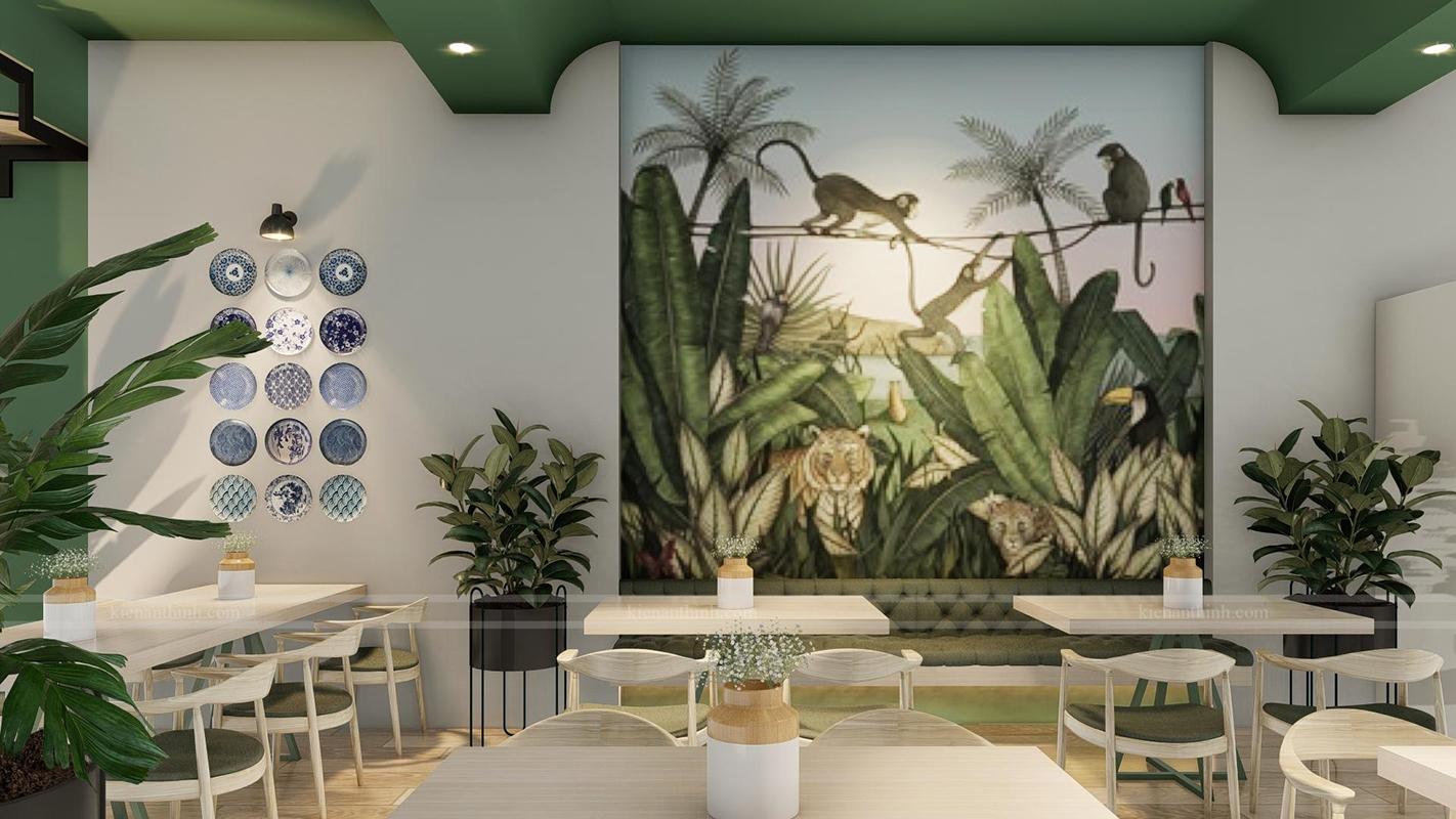 Mẫu quán cafe đẹp Bình Dương