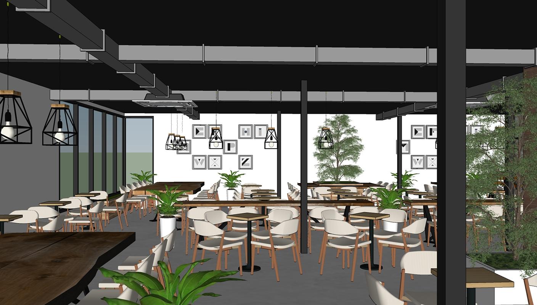 Mẫu quán cafe hút khách