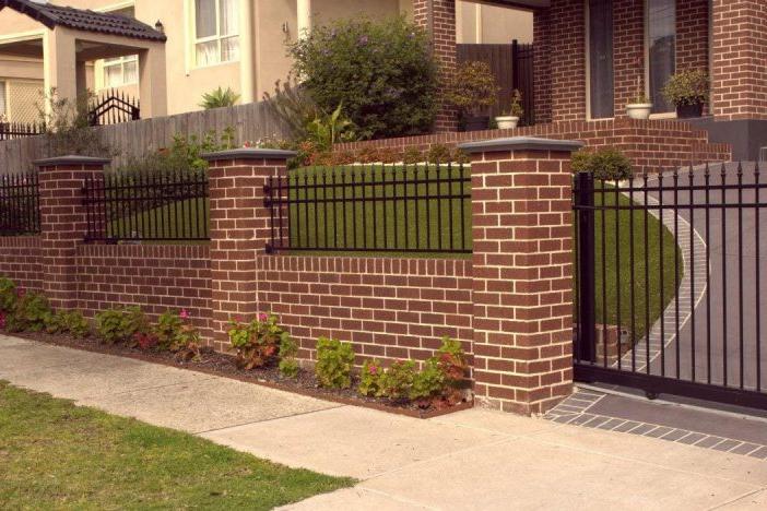 Những điều cần biết về xây hàng rào bằng gạch