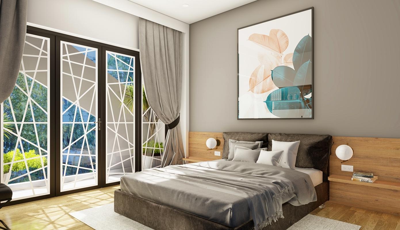 Thiết kế phòng ngủ cho gia đình Việt Nam