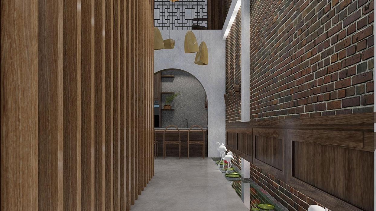 Thiết kế thi công nhà phố 2 tầng tại Bình Dương