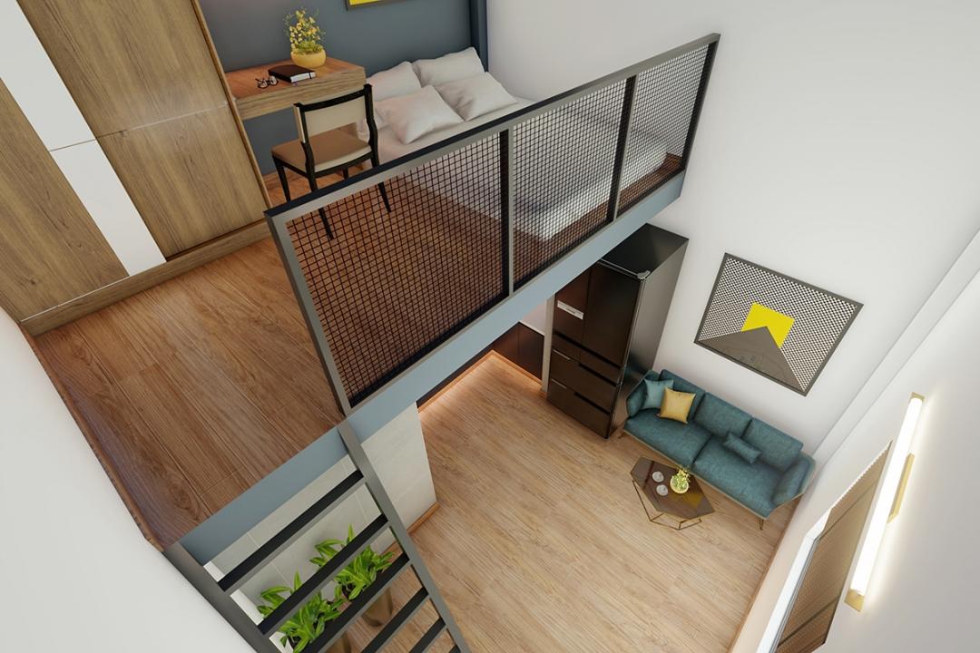 6 ý tưởng thiết kế gác lửng cho nhà có diện tích hẹp