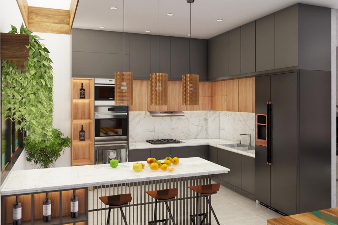 Ghi nhớ 5 nguyên tắc khi thiết kế nhà bếp