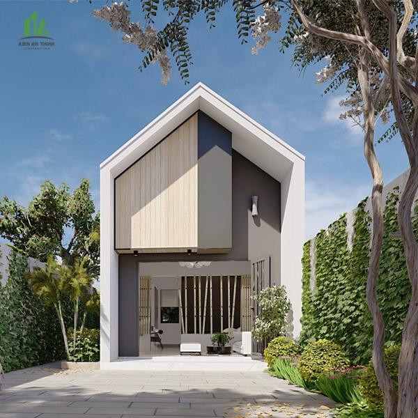 Lên ý tưởng xây nhà giá rẻ 2 tầng mái thái