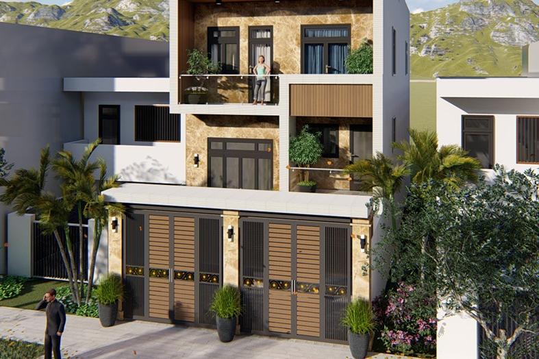 Nhà có 2 cửa chính cần chú ý gì để đón cát tránh hung?