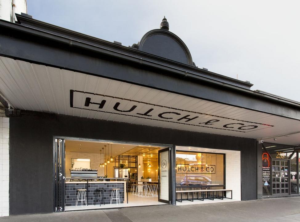 Thiết kế Quán cafe: Hutch & Co