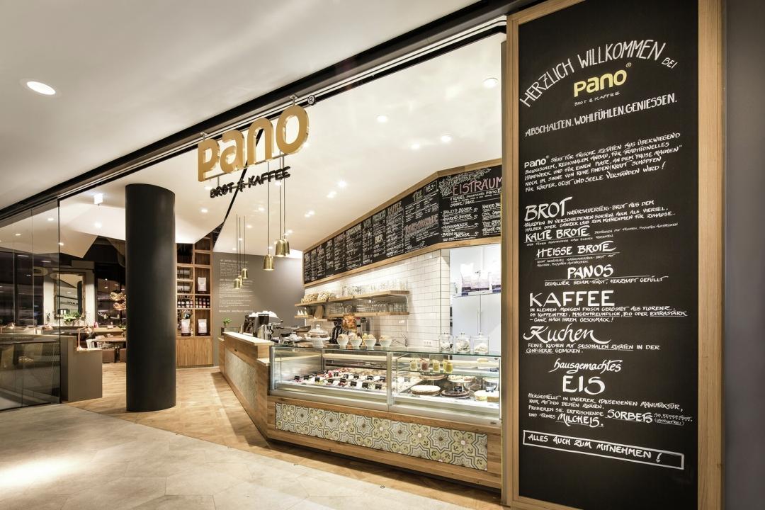 Thiết kế Quán cafe: Pano Brot & Kaffee