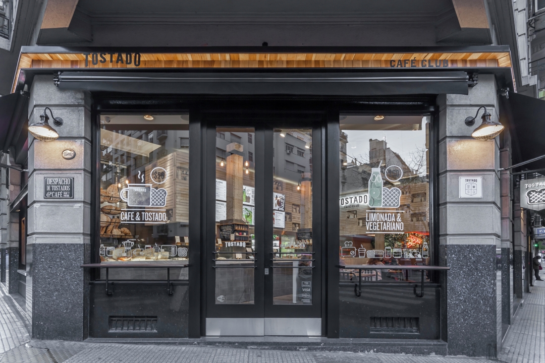 Thiết kế Quán cafe: Tostado Cafe Club