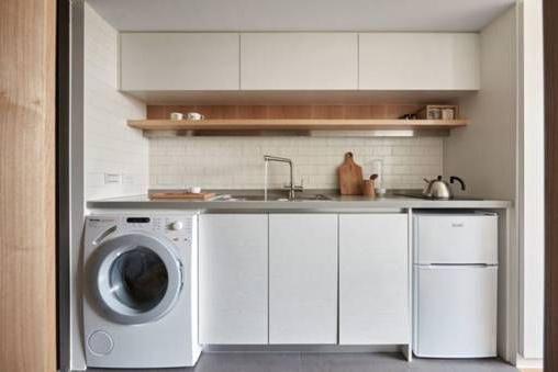 Ý tưởng sắp xếp phòng bếp nhỏ mini