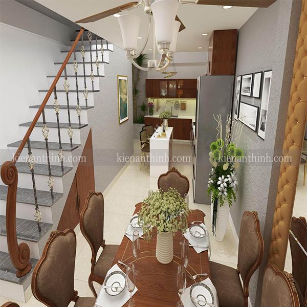 Thiết kế và Thi công nội thất Nhà Phố
